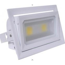 R7S30001 Proyector LED R7S. Blanco 30W. 90º Rotacion. Frio 3300lm 120º
