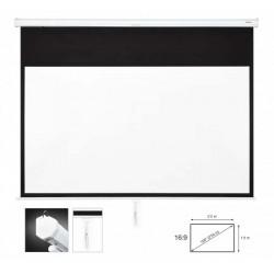 PPMA16100BA  Pantalla de proyección manual