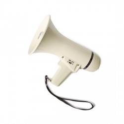 Megáfono con sirena MF-80S