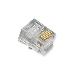 RJ12 CONECTOR ADAPTADOR TELEFONICO