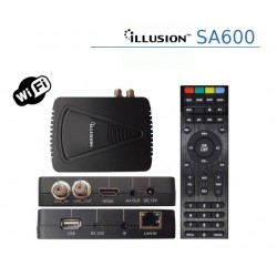 RECEPTOR SATELITE ILLUSION MOD SA600