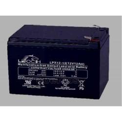 Bateria de plomo 12V-12A, medidas 150 x 95 x 98 mm