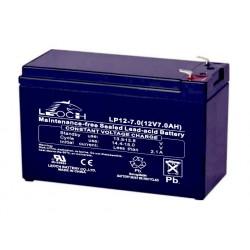 Batería plomo de 12V-7A Medidas: 150x94x64
