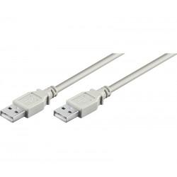 CONEXIÓN USB-A 2.0 MACHO-MACHO USB-A 2.0