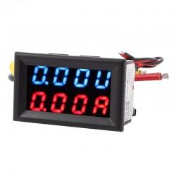 Mini amperímetro voltímetro  - 20A/0-100V