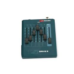 DRIVE 6. Consola de control. 6 canales DMX. 9 V DC