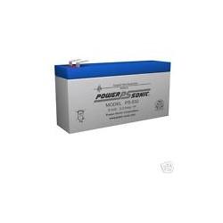 Bateria plomo 8 V - 3.2 A  133x65x37mm