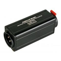 NEUTRIK - XLR MACHO A JACK ESTÉREO HEMBRA 6.35mm - 1/1 - 200 OHM  NA2-M-J-TX