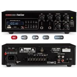 Amplificador de megafonía USB/SD/MP3/FM MA-30RGU